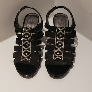 London Fog Strappy heels US 5.5